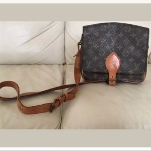 Louis Vuitton Cartouchire GM Crossbody ShoulderBag